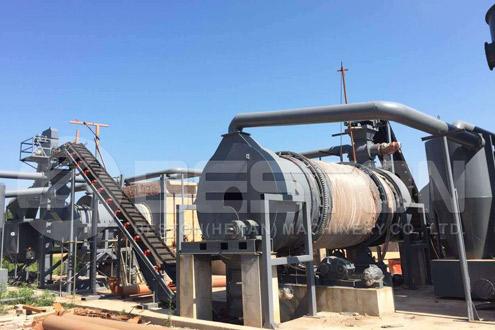 Beston Biochar Production Equipment for Sale